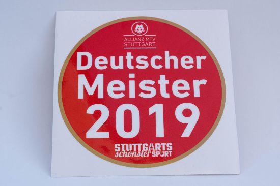 Bild von Aufkleber Deutscher Meister 2019