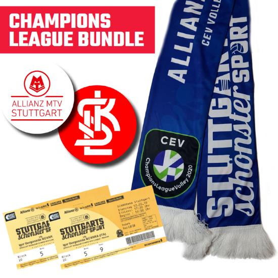 Bild von Heimspielpaket: 2 x CL-Ticket Lodz und CL-Fanschal
