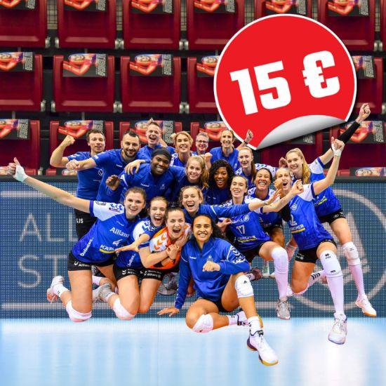 Bild von Unterstützer-Ticket 15 Euro