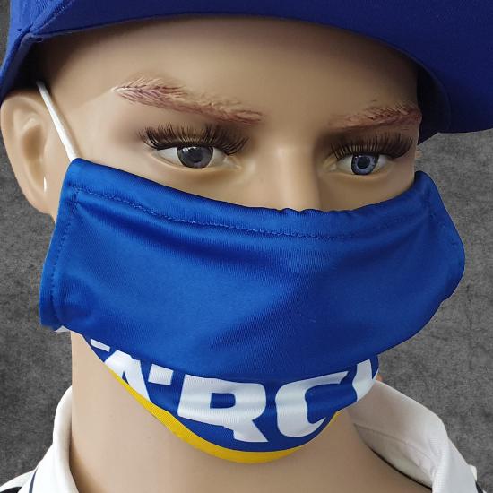"""Bild von Gesichtsmaske """"Allianz MTV Stuttgart"""" blau"""