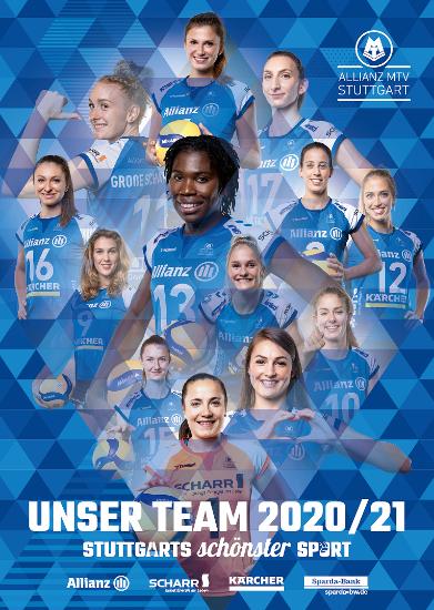 """Bild von Mannschaftsposter """"Unser Team 2020/2021"""""""