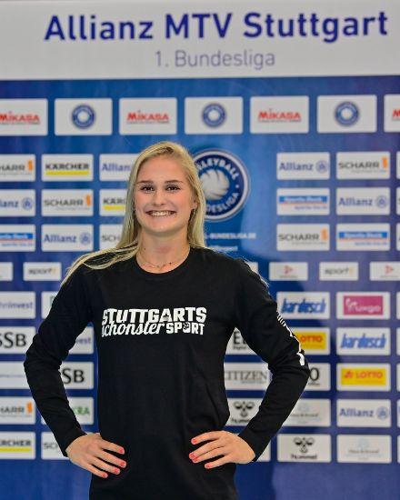 """Bild von Long Sleeve """"Stuttgarts schönster Sport"""" schwarz Damen"""