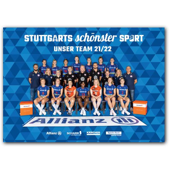 """Bild von Mannschaftsposter """"Unser Team 2021/2022"""""""